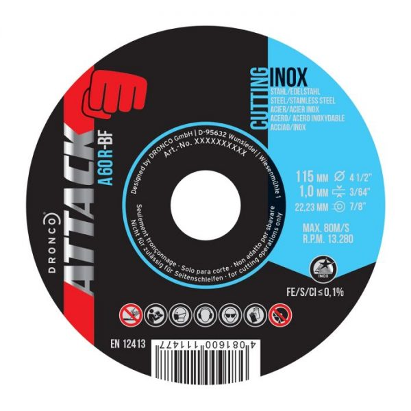 115mm Inox Cutting Disc